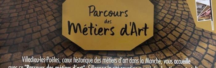 PARCOURS DES MÉTIERS D'ARTS PARCOURS VILLEDIEU LES POÊLES