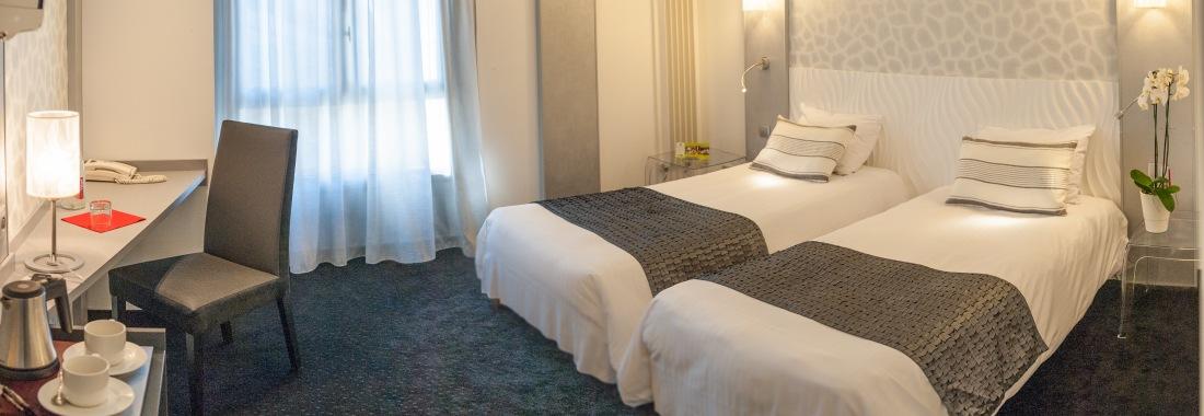 Découvrez nos chambres Chambres de l'hôtel