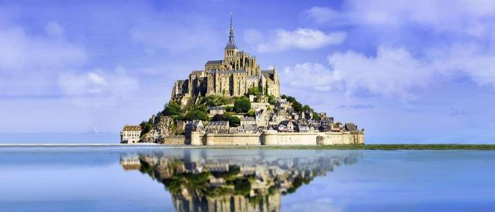 Le Mont Saint Michel Мон-Сен-Мишель