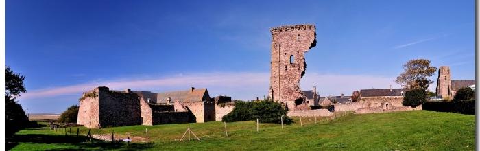 Chateau de Regnéville Le Château de Regnéville-sur-mer