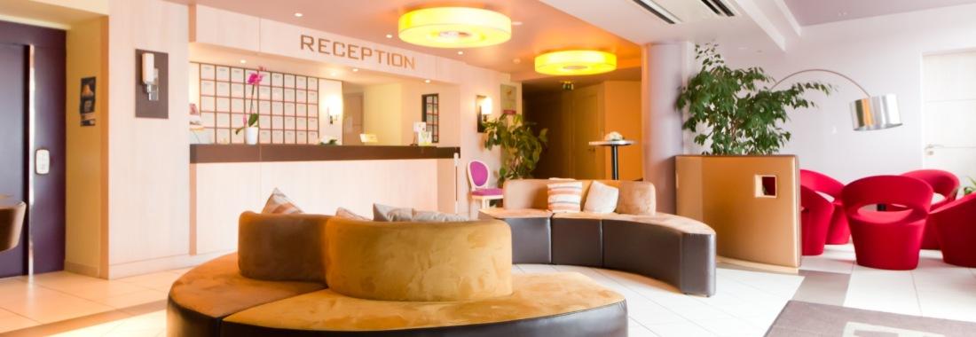 Les services et les équipements de l'hôtel Réception de l'hôtel