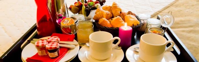 plateau petit déjeuner КОМПЛЕКСНЫЙ ЗАВТРАК В НОМЕР